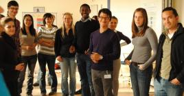 A group of international students in Germany