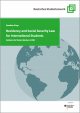 """Cover """"Residency and Social Security Law for International Students"""""""