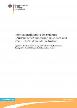Cover: Internationalisierung des Studiums