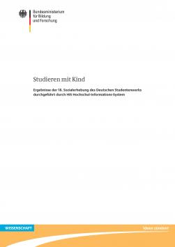 Cover: Studieren mit Kind