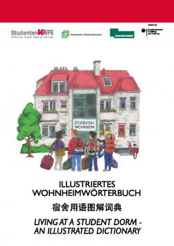 Cover of the Illustrated Dormitory Dictionary of Deutsches Studentenwerk