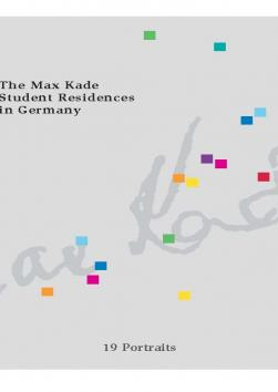 Cover: The Max Kade Student Residences in Germany
